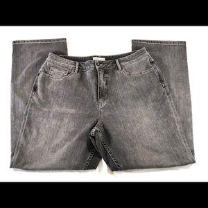 Coldwater Creek Jeans, Black wash, 16